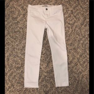 Abercrombie Kids White Jeans